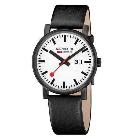 Mondaine Evo Black & White - Man Cave