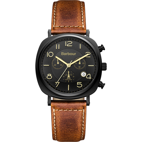 Barbour - Beacon Men's Chronograph Wrist Watch - Man Cave