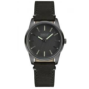 Barbour - Jarrow Men's Wrist Watch, Black Band - Man Cave