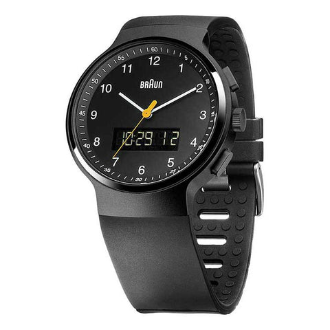 Braun | Analog Digital Wrist Watch | BN-159BKBKG - Man Cave - 1