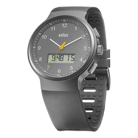 Braun | Analog Digital Wrist Watch | BN-159GYGYG - Man Cave - 1