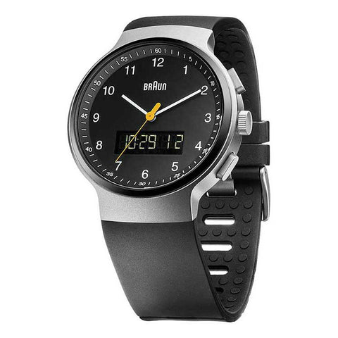 Braun | Analog Digital Wrist Watch | BN-159SLBKBKG - Man Cave - 1