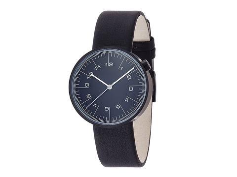 Nendo Oki Sato | Men's Draftsman Watch | Black Dial - Man Cave - 1