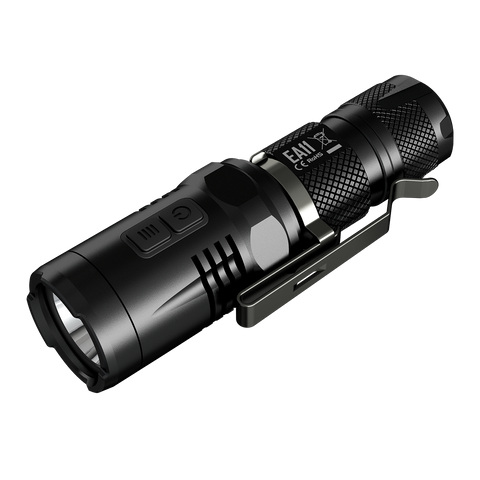 NITECORE EA11 Flashlight, Black, 900 lm, 1 x IMR14500 - Man Cave - 1