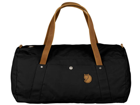 Fjallraven Duffel | No. 4  Duffel Bag | Black - Man Cave