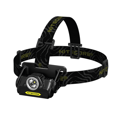 NITECORE HA20 Headlamp, Black/Yellow, 300 lm, 2 x AA - Man Cave - 1