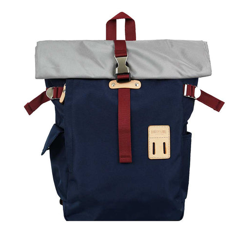 Harvest Label | Rolltop Backpack 2.0 | Navy - Man Cave