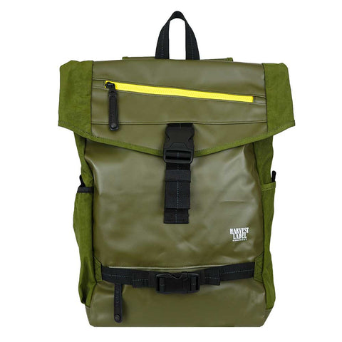 Harvest Label | Terrain Flaptop Backpack | Olive - Man Cave - 1