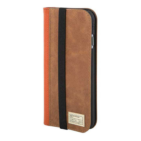 Brown Leather Icon Wallet for iPhone 6S - Man Cave - 1