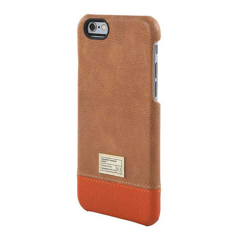 Brown Leather Focus Case for iPhone 6S - Man Cave - 1