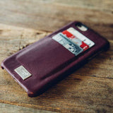 HEX | Moroccan Red Leather Solo Wallet | iPhone 6S Plus - Man Cave - 4