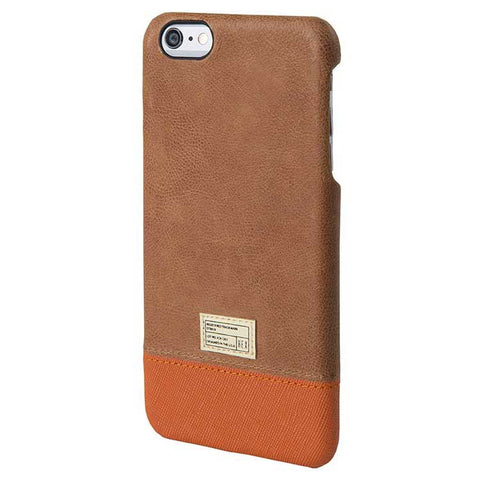 Brown Leather Focus Case for iPhone 6S Plus - Man Cave - 1