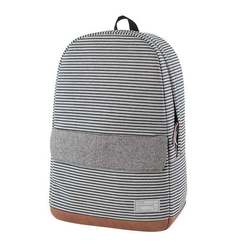 HEX |  Stinson Echo Backpack | Stripe/Grey - Man Cave - 1