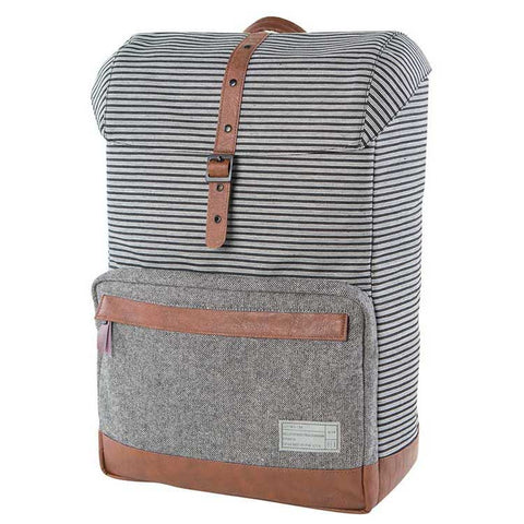 HEX | Stinson Coast Backpack | Stripe/Grey Denim - Man Cave - 1