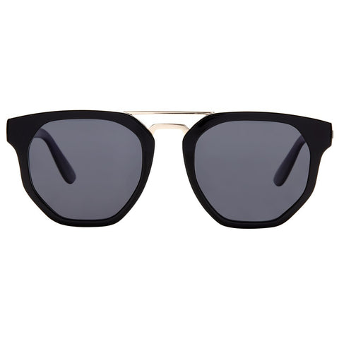Le Specs Thunderdome | Black Gold | Smoke Mono - Man Cave - 1