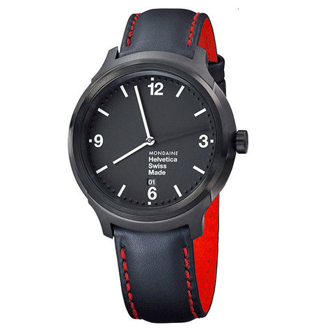Mondaine Helvetica No1 New York Edition Bold 43mm - Man Cave - 1