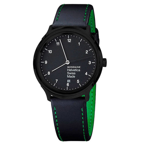 Mondaine | Helvetica No1 New York Edition Regular 40mm | MH1.R2221.LB - Man Cave - 1