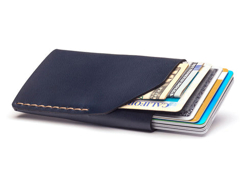 Bison | No.2 Wallet | Navy - Man Cave - 1