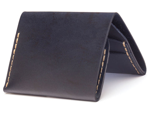 Bison | No.4 Wallet | Navy - Man Cave