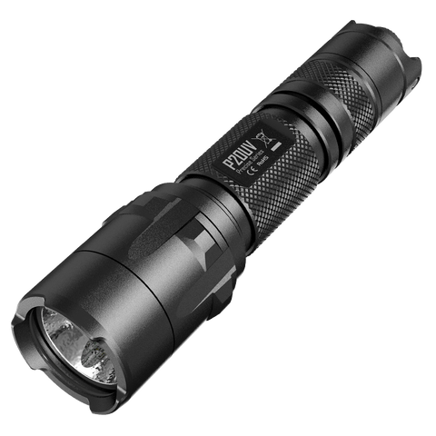 NITECORE P20UV Precise Flashlight, Black, 800 lm, 2x CR123A - Man Cave - 1