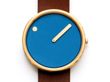 Picto |  Analog Watch Blue Dial 40mm | RD-43376W - Man Cave - 2