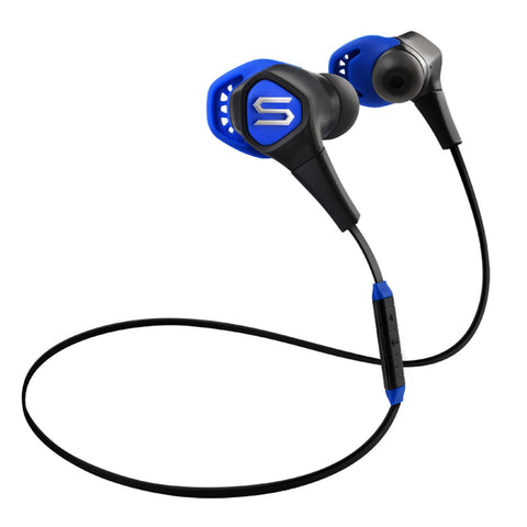 Soul Run Free Pro Wireless Bluetooth In-Ear Headphones with Microphone (Electric Blue) - Man Cave - 1