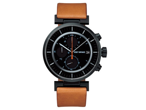 Issey Miyake | Men's W Analog Display Quartz Brown Watch | SILAY006 - Man Cave