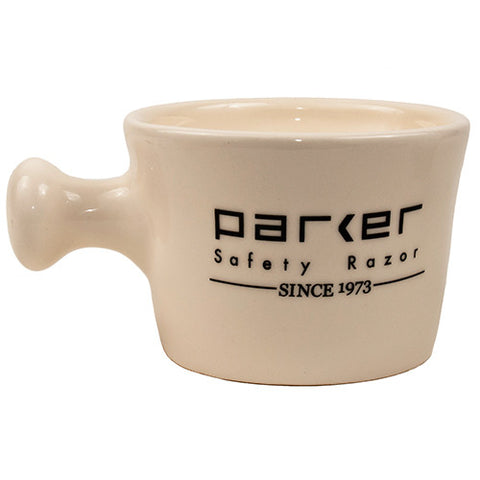 Parker White Apothecary Mug - Man Cave