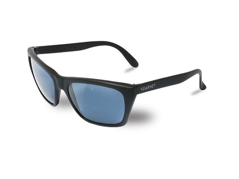 Vuarnet | 06 Matte Black | Blue Polarized - Man Cave