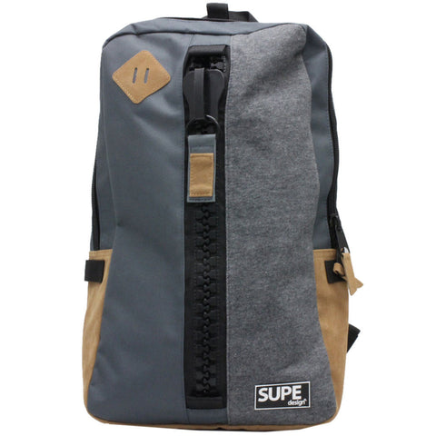SUPE Design | Day Bag Charcol - Man Cave - 1