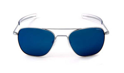 Aviator Matt Chrome | Blue Sky PC Bayonet 58mm