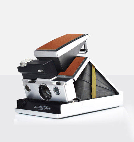 MiNT | SLR670-S Instant Camera with Time Machine (Brown) - Man Cave - 1