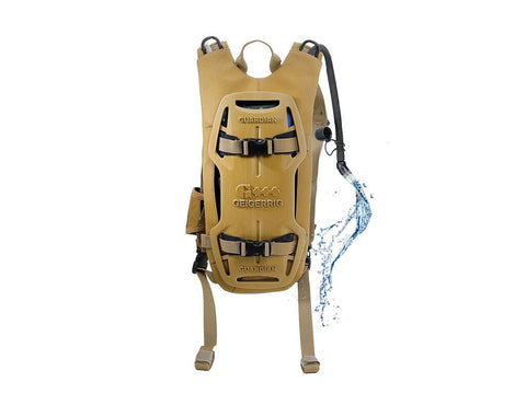 Geigerrig | Tactical Guardian Hydration System, 70 oz., | Coyote Tan - Man Cave - 1