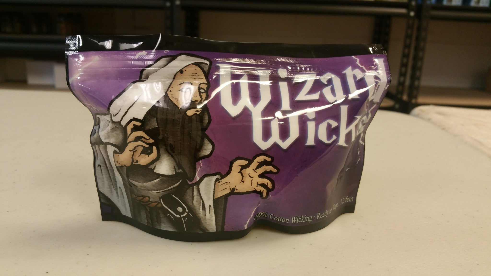 wizard wick 12ft cotton
