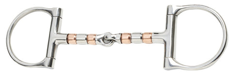 Trial 4.5'' Copper Roller Snaffle