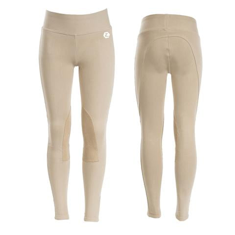 Horze Junior Active Knee Patch Tights
