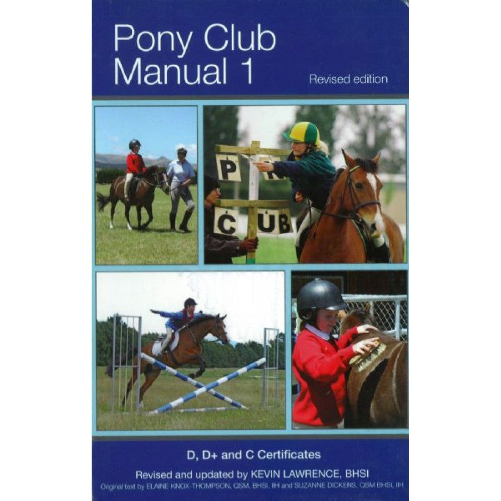 NZPCA Pony Club Manuals