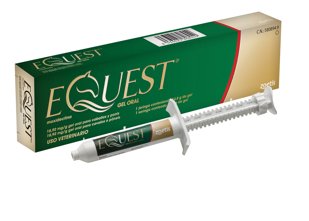Equest Gel + Tape Wormer