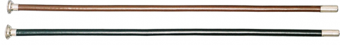 Edward Goddard Leather Covered Cane with Dome