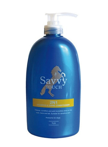 Savvy Touch 2 in 1 Shampoo