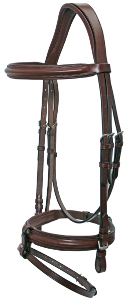 Platinum Shaped Hanoverian Bridle