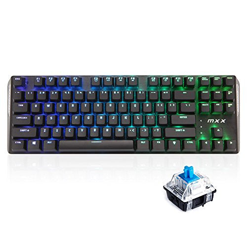 MXX RGB Keyboard Manual & Driver