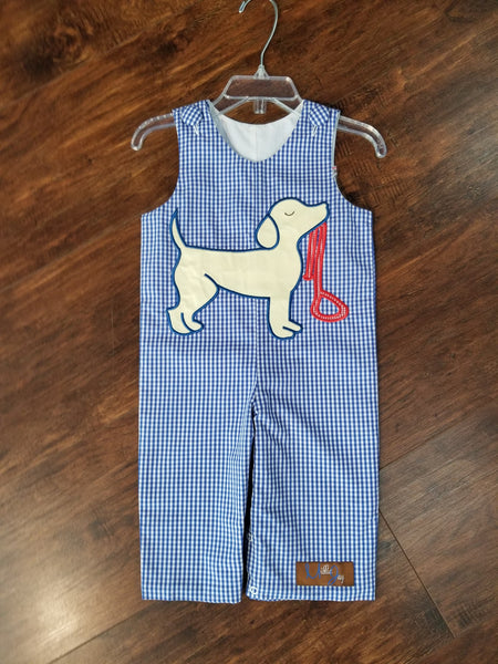 Millie Jay Puppy Love Applique Long All