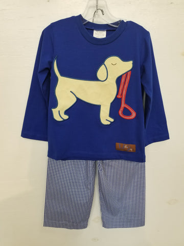 Millie Jay Puppy Love Applique T-Shirt Set