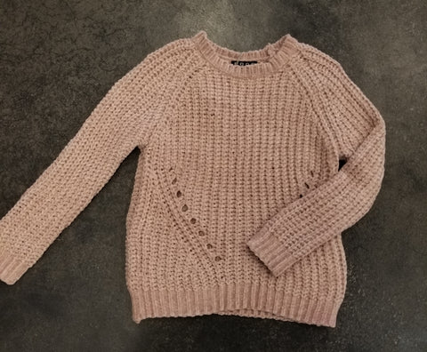 Tween Dusty Rose Sweater