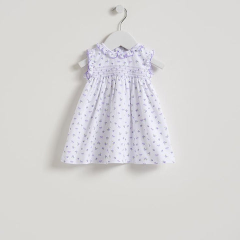 Kissy Kissy Lilac Rosy Print Sleeveless Dress with Bloomer