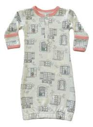 Cat & Dogma Window Gown 0-6M