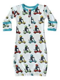 Cat & Dogma Scooter Gown 0-6M