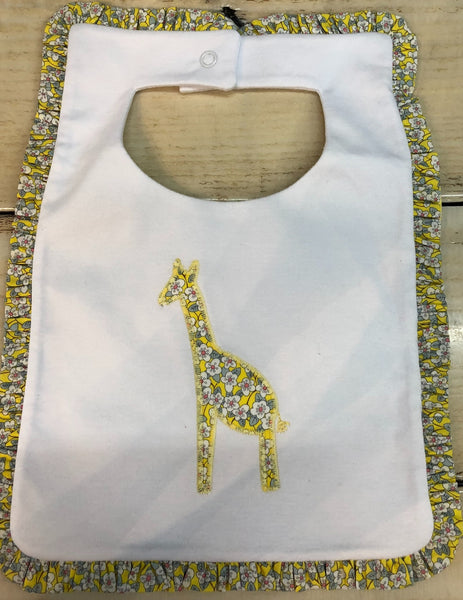Little English Liberty Giraffe Bib