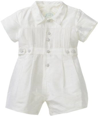 Kate Mack & Biscotti Boys Silk Romper